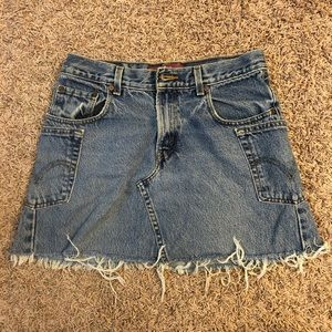 LEVIS DENIM SKIRT 550